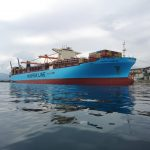 "FOTO, VIDEO: ""Maersk Hamburg"" po prvi put u Rijeci"